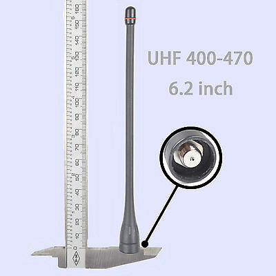 6.2 Inch UHF Antenna for ICOM Radio IC-F4023 IC-F4026 IC-F4029 IC-F4101 IC-F4003