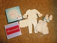 NEW American Girl SPORTY WINTER OUTFIT Doll UGG VestBoots Retired NIB 550402662905   eBay