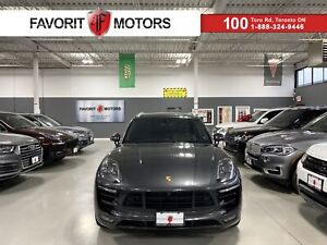 2017 Porsche Macan Turbo|400HP|NAV|BOSE|PANOROOF|360CAM|BROWN LEATHER