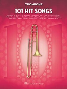 101-Hit-Songs-For-Trombone-by-VARIOUS-New-9781495075346-Fast-Free-Shipping