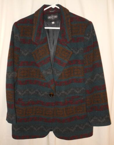 Blanket donna lana Aztec Medium di Cappotto Cappotto Southwest da Indian TgvvWq