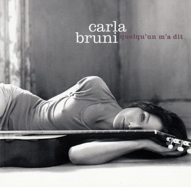 CARLA BRUNI : QUELQU'UN M'A DIT / CD - TOP-ZUSTAND