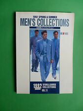 Men's Collections Fashion Spring Summer 1992 Paris Rabanne Paco Levy Dior Kenzo