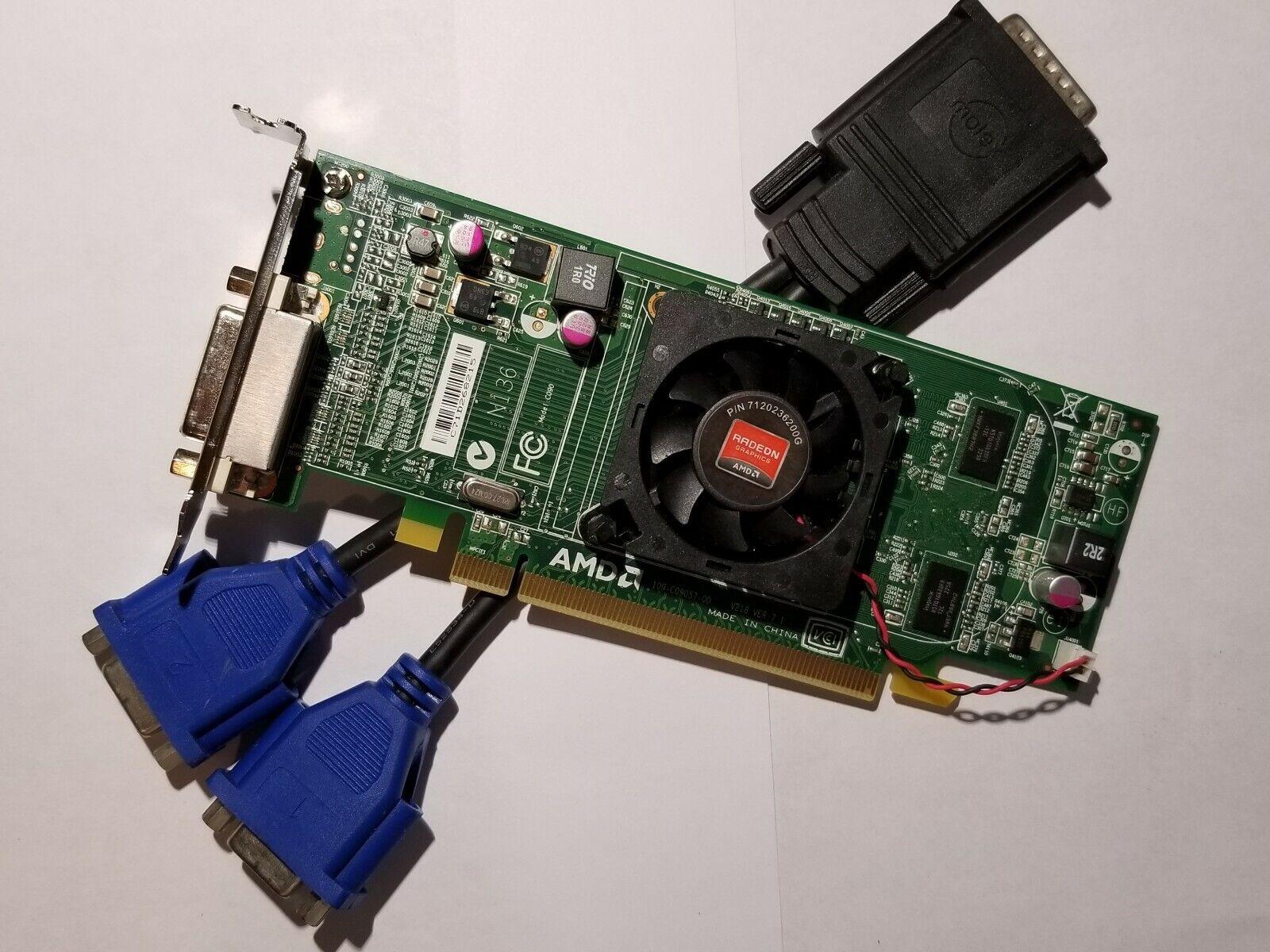 HP Compaq Elite 8300 8200 6200 6300 PRO VGAビデオカード デュアルモニター Windows 10
