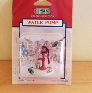 Water Pump Lemax Village Collection 1995 New 9805854 Christmas Village