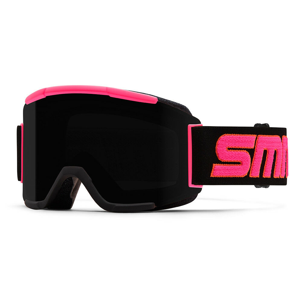 Smith Gafas de Esquí Snowboard Squad Fucsia Compatible con Casco colors Lisos