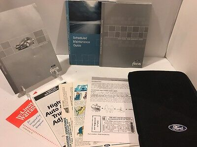 ford focus owners manual guide books full pc set