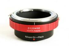 ULATA Lens Mount Adapter Nikon G AF-S to Micro 4/3 M43 MFT EM5 GH3 EP5  AIGM43RD