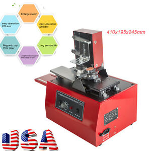 electric pad printer printing machine diy t shirt inkprint pvc mug