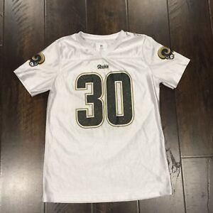 11e1162f532 Los Angeles Rams Todd Gurley NFL Rhinestones Jersey Size XL (14/16 ...