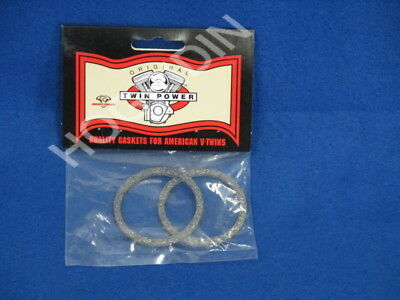 2 pak graphite crossover exhaust system gaskets Harley touring softail dyna xl