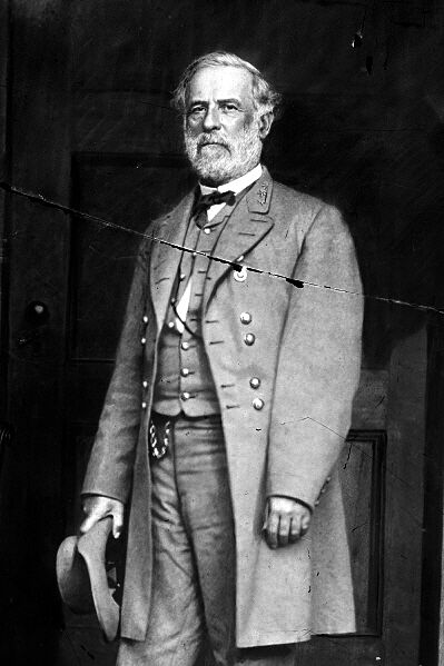 General Robert E 5 Sizes! Lee on Traveller New Restored Satin Finish Photo