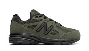the best attitude 8bbd4 092a9 Details about New Balance 990v4 Olive Green Youth Size Women And Big Kids  New N Box KJ990OLG