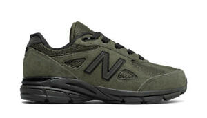 the best attitude 1654a 170f8 Details about New Balance 990v4 Olive Green Youth Size Women And Big Kids  New N Box KJ990OLG