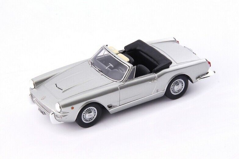 Avenue 43  - Maserati 3500 GT Special Spyder Vignale argent Italie 1960  1 43