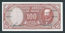 F.C. CHILE , 100 PESOS=10 CONDORES ND 1958/59 , S/C- (AUNC) , SERIE B20 , P.122