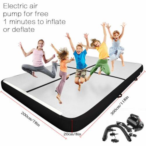 10//16ftx6.6ft Fbsport Air Track Inflatable Airtrack Gymnastics Tumbling Mat Pump