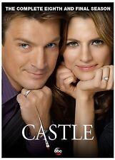 Castle: The Complete Eighth Season 8 (DVD, 2016, 5-Disc Set)