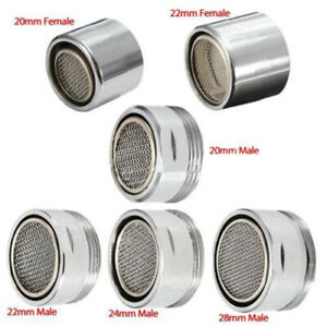 Kitchen-Faucet-Tap-Water-Saving-Aerator-Chrome-Male-Female-Nozzle-Sprayer-Filter