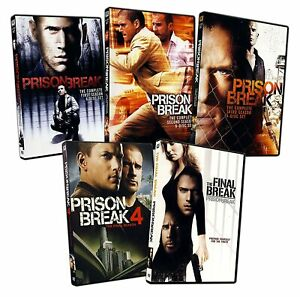 The Prison Break Complete Tv Series Season 1 4 Final Break Dvd Bundle Set Ebay