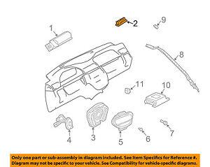image is loading mercedes-oem-98-03-ml320-restraint-system-passenger-