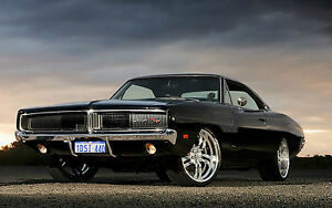 Dodge Charger Srt Muscle Car 4 New 24 X 36 Poster Usa Seller Ebay