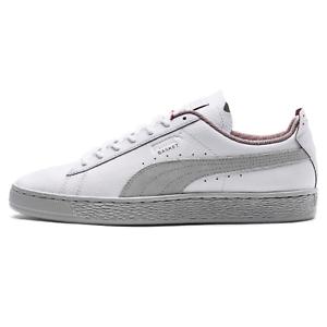 Puma SF Scuderia Ferrari Basket LS Lifestyle Sneaker Chaussures blanc 306214 02