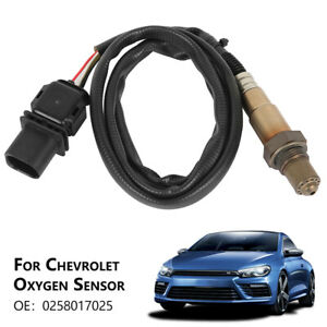 O2 Oxygen Sensor Lambda WideBand Ratio Table 5 Wire 0258017025 For Ford VW AUDI