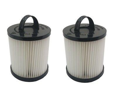 (2) Hepa Dust Filter For Eureka Ef-91 Ef91 Ef-91b Ef91b Vacuum