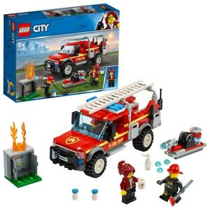 LEGO-City-Town-Fire-Chief-Response-Truck-60231