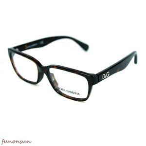 f25af0e09f1 Dolce   Gabbana Women s Eyeglasses D G DD1249 502 Havana Rectangle ...
