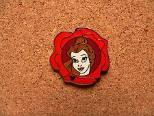Belle Disney Pin - 2011 Hidden Mickey Series - Princess Flowers