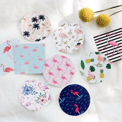 45 Pcs//set Flamingo Album Diary Decal Label Scrapbooking Paper Mini Stickers