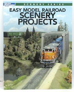 Model Railroader 12499 Easy Model Railroad Scenery Projects (Book) Terrain Guide