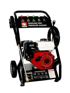 HIDROLIMPIADORA MOTOR GASOLINA 4 TIEMPOS ALTA PRESION 6.5HP 2500PSI 170BAR 196CC