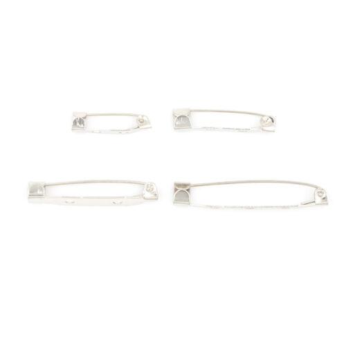 New 50pcs//Bag Safe Brooch Catch Bar Locking Pin Clasp Fastener Craft 20-38mm PT