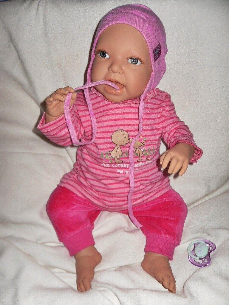 Traumbambolas Doro bambolas bambino Bambola Antje  50 cm con ciuccio gioco BAMBOLA bambino NUOVO  bellissimo