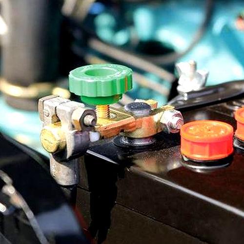 Auto Batterie Trenner Unterbrecher Stop Haupt Trenn Schalter Pol Klemme 6V 24V