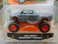 1:64 Jada Toys Just Trucks 13 Grey 1999 Chevy Silverado Dooley Dually Nip