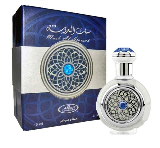 Musk Al Aroosah by Al Rehab 15ml concentré Huile Parfumée UNISEXE (Arabian Oud)