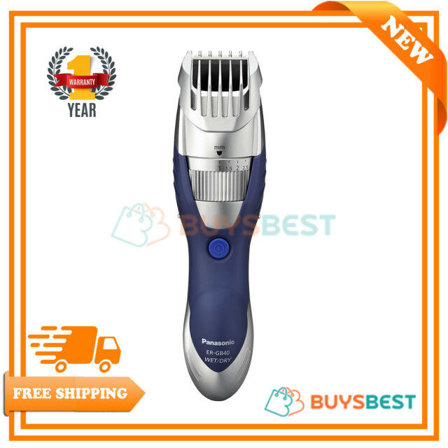 Panasonic Trimmer Wet & Dry Hair & Beard Cordless Rechargeable Clipper Shaver
