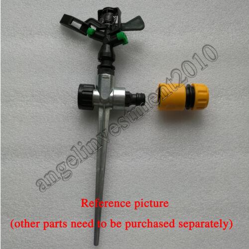 """2pcs 1//2/"""" Agricultural Garden Lawn Plastic 360° Rotation Irrigation sprinkler"""