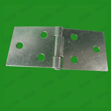 2 x Heavy Duty Steel Back Flap Hinges, Counter, Worktop, Table, Box, 80mm x 30mm