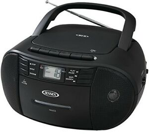 JENSEN-CD-545-PORTABLE-CD-CASSETTE-RECORDER-WITH-AM-FM-RADIO-Misc