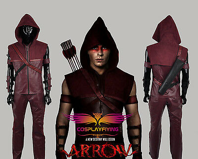 TV Green Arrow Season 3 Roy Harper Red Battleframe Clothes Cosplay Costumes