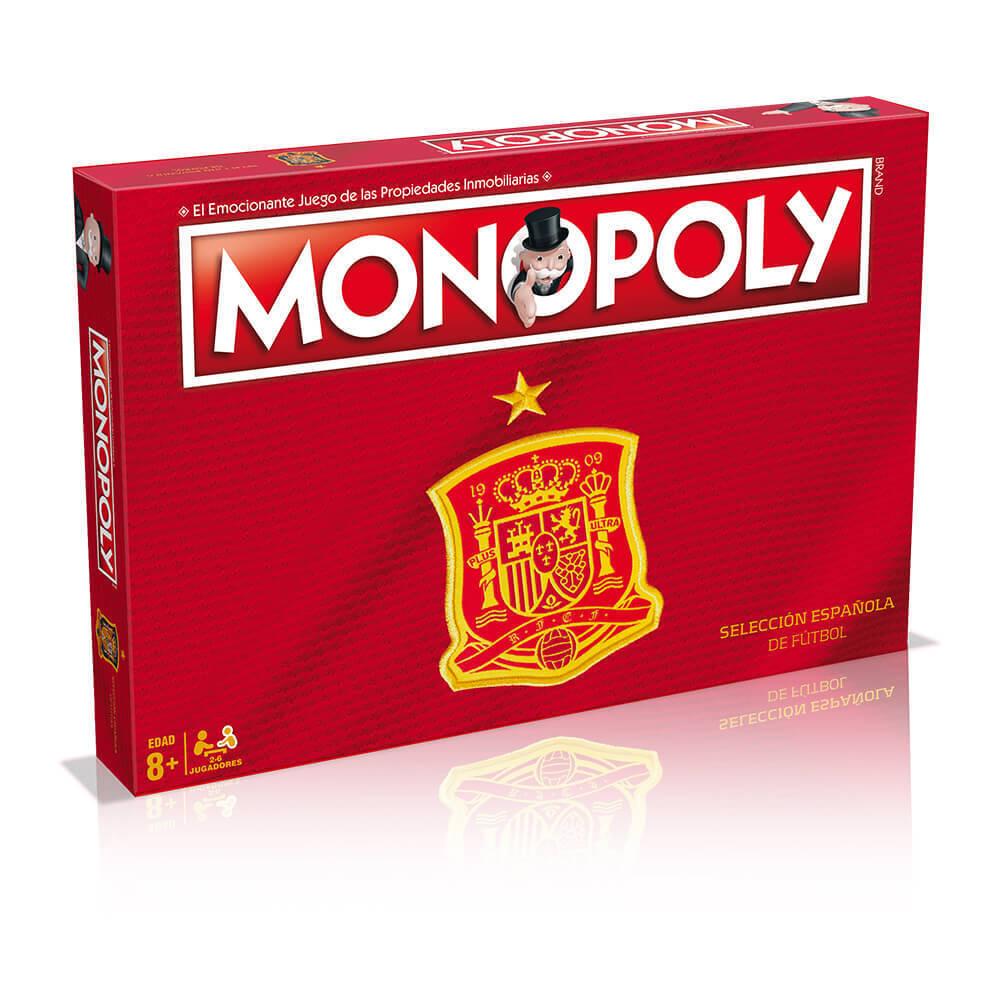 Monopoly selection Spanish Football Game Table-EDITION ORIGINAL