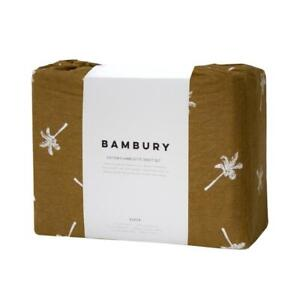 Bambury Cocos Flannelette Sheet Set -Tobacco