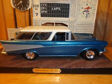 AMT '57 Chevy NOMAD Detailed Trim Clean Build Quailty Look 1:25 Built Model