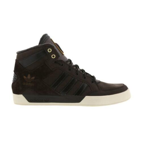 Leather Brown Dark Trainers Bb0233 Uomo Hi Hard Top Adidas Court wqw0apYX