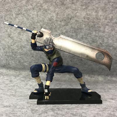 Anime NARUTO Shippuden GEM Series Hatake Kakashi Shinobi Wars PVC Figure No Box